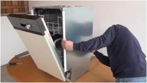 تعمیر ماشین ظرفشویی قسمت شیر برقی
