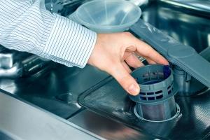 فیلتر و صافی ماشین ظرفشویی